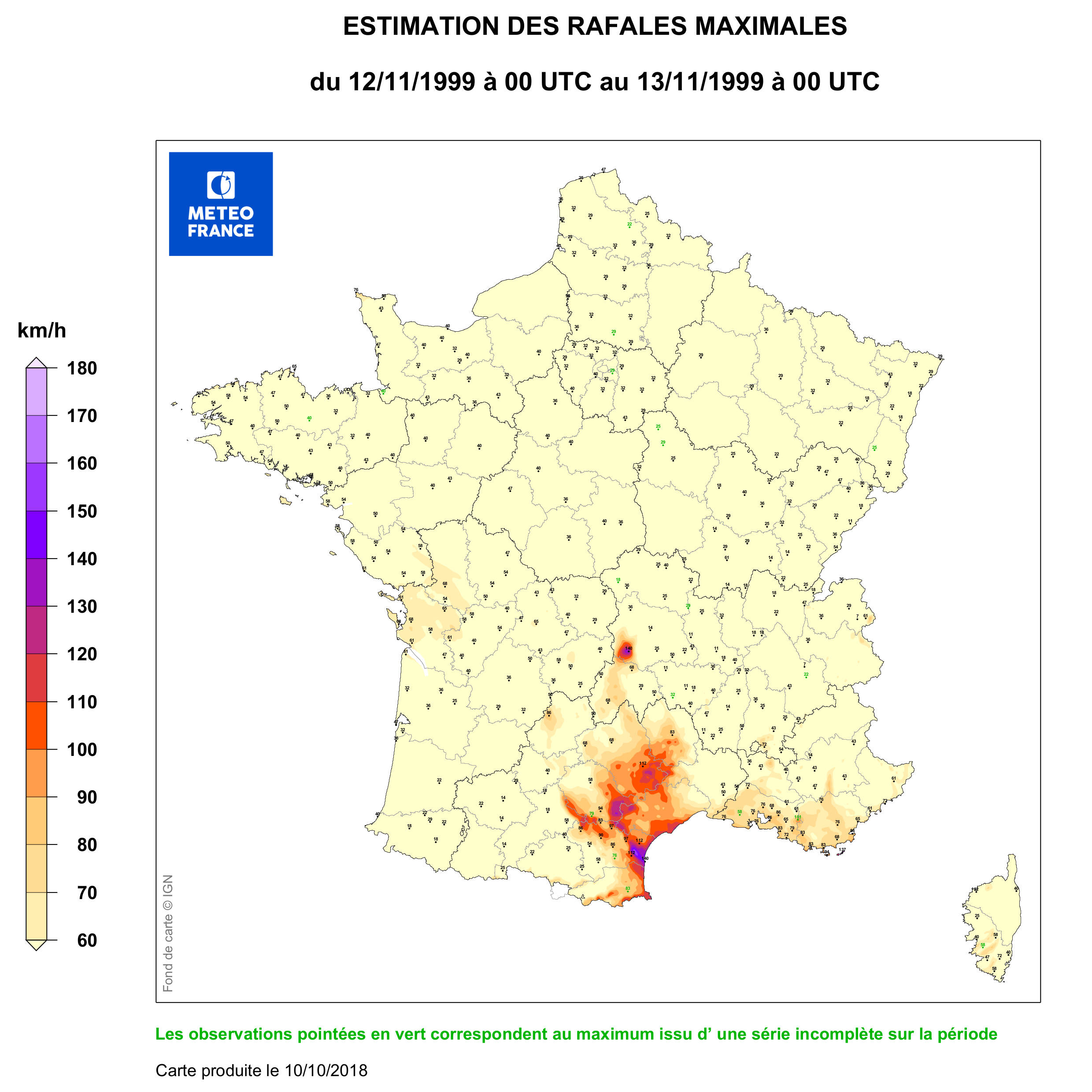 Carte quotidienne